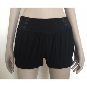 Lime Brand Black Stretchy Pull On Shorts